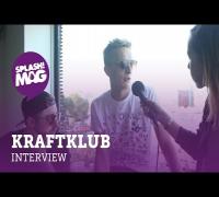 """Kraftklub über ihren """"Konvoi In Schwarz"""": """"Wir wollen Kniescheiben fliegen sehen!"""" (splash! Mag TV)"""