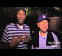 Krayzie Bone Media:Behind the scenes w/ Damizza & Steve Lobel