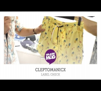 Label Check: Cleptomanicx