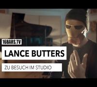 Lance Butters: zu Besuch im Studio (16BARS.TV)