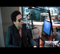 LENNY KRAVITZ vs DJ WHOO KID on the WHOOLYWOOD SHUFFLE