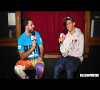 Lil Bibby talks 1st Fight, 1st Rap Check & Drake's Singing