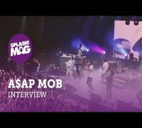 "Live Recap & Interview: A$AP Mob in Berlin talking Shia LaBeouf and ""L.OR.D."" (splash! Mag TV)"