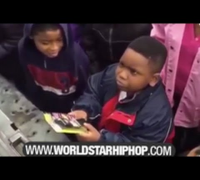 Lol: Kid Gets Mad After 2 Chainz Gives Him A Flip Phone For Christmas! (Wasn't Having It) (HD)