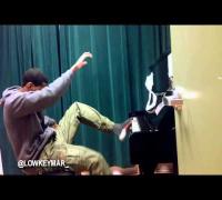 Lowkey Mar is a piano prodigy