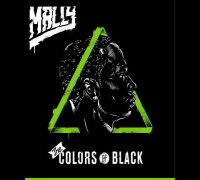 MaLLy :: The Colors of Black :: Official Album Artwork Revealed!!!