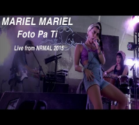 "Mariel Mariel performs ""Foto Pa Ti"" at NRMAL"