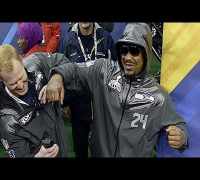 MARSHAWN LYNCH & LIL TERRIO IN SUPER BOWL XLVIII BEAST MODE! - ADD Presents: The Drop