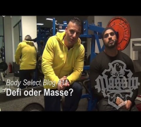 MASSIV - BODY-SELECT BLOG #11 - DEFI ODER MASSE? (FITNESS, ERNÄHRUNG & LIFESTYLE)
