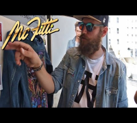 MC FITTI - HOODCHECK SCHAUFENSTERGESTALTUNG (OFFICIAL VIDEO MC FITTI TV)