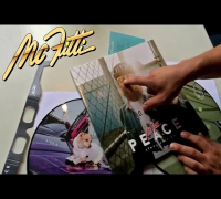 MC FITTI - PEACE DOPPEL PICTURE VINYL UNBOXING (OFFICIAL VIDEO MC FITTI TV)