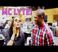 MC Lyte Visits! New Music & New Initiatives! #LyteTalk #EducateOurMen