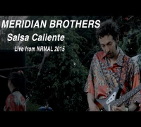 "Meridian Brothers performs ""Salsa Caliente"" at NRMAL"