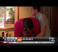 Michael Sam Reacts To Being The First Openly Gay Player Drafted In The NFL