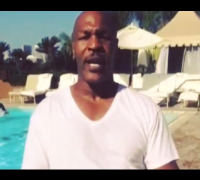 Mike Tyson ALS Ice Bucket Challenge!  HD (Nominates Donald Trumph, Steve Wynn and Jim Gray)