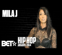Mila J At The 2014 BET Hip-Hop Awards