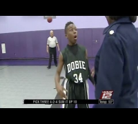 Military Mother Surprises Her 13 Year Old Son At His Basketball Game After 8 Months In Kuwait!