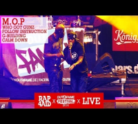 M.O.P - WHO GOT GUNZ, FOLLOW INSTRUCTION, G-BUILDING, CALM DOWN - LIVE at the Out4Fame Festival 2014