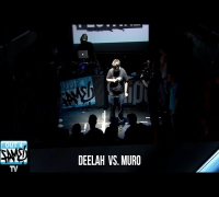 MURO VS DEELAH - 1ON1 Freestyle-Battle Halbfinale-Nord 2014