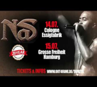 NAS PERFORMS ILLMATIC LIVE IN COLOGNE & HAMBURG