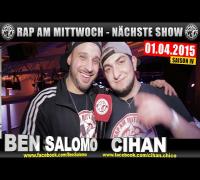 NEXT RAP AM MITTWOCH   BMCL AM 01.04.2015 - ANSAGE (VIDEOFLYER)