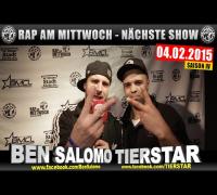NEXT RAP AM MITTWOCH   BMCL AM 04.02.2015 - ANSAGE (VIDEOFLYER)