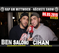 NEXT RAP AM MITTWOCH   BMCL AM 06.05.2015 - ANSAGE (VIDEOFLYER)