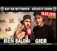 NEXT RAP AM MITTWOCH   BMCL AM 18.03.2015 - ANSAGE (VIDEOFLYER)