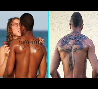 "Nick Cannon Covers Up ""MARIAH"" Tattoo!"