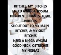Nicki Minaj - My Nigga (Verse - Lyrics Video)