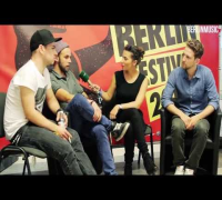 OK KID im Interview auf dem Berlin Festival 2013 bei BERLINMUSIC.TV