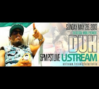 @OnlyFuturistic LIVE on Ustream - DUH Music Video Premiere