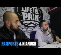 PA SPORTS & KIANUSH INTERVIEW: Desperadoz, Nazar, Massiv, Haftbefehl, DMX, Alpa Gun, Kool Savas, LIP
