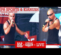 PA SPORTS & KIANUSH - WARUM ? - LIVE at the Out4Fame Festival 2014 - RAP4AID