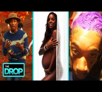 "Pharrell ""Gust of Wind"" Video   Kelly Rowland Naked for ""Elle""   Wiz Goes Purple? - The Drop"