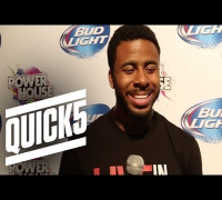 QUICK5 with Sage The Gemini (Interview at Powerhouse 2014)