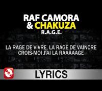Raf Camora & Chakuza - R.A.G.E. Lyrics