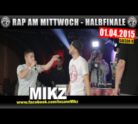 RAP AM MITTWOCH: 01.04.15 BattleMania Halbfinale (3/4) GERMAN BATTLE