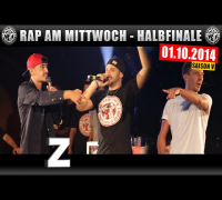 RAP AM MITTWOCH: 01.10.14 BattleMania Halbfinale (3/4) GERMAN BATTLE
