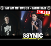 RAP AM MITTWOCH: 07.01.15 BattleMania Halbfinale (3/4) GERMAN BATTLE
