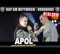 RAP AM MITTWOCH: 07.01.15 BattleMania Vorrunde (2/4) GERMAN BATTLE