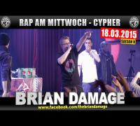 RAP AM MITTWOCH: 18.03.15 Die Cypher in München feat. Brian Damage uvm. (1/4)