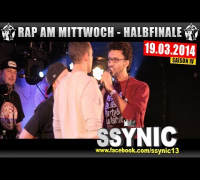 RAP AM MITTWOCH: 19.03.14 BattleMania Halbfinale (3/4) GERMAN BATTLE