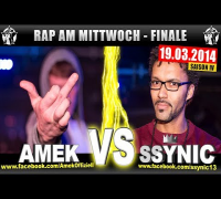 RAP AM MITTWOCH: Amek vs Ssynic 19.03.14 BattleMania Finale (4/4) GERMAN BATTLE