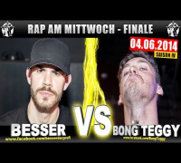 RAP AM MITTWOCH: Besser vs Bong Teggy 04.06.14 BattleMania Finale (4/4) GERMAN BATTLE