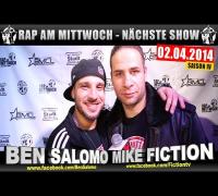 RAP AM MITTWOCH   BMCL: NÄCHSTE SHOW AM 02.04.2014 - ANSAGE (VIDEOFLYER)