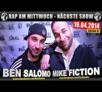 RAP AM MITTWOCH   BMCL: NÄCHSTE SHOW AM 16.04.2014 - ANSAGE (VIDEOFLYER)