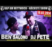 RAP AM MITTWOCH   BMCL: NÄCHSTE SHOW AM 19.02.2014 - ANSAGE (VIDEOFLYER)