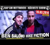 RAP AM MITTWOCH   BMCL: NÄCHSTE SHOW AM 19.03.2014 - ANSAGE (VIDEOFLYER)