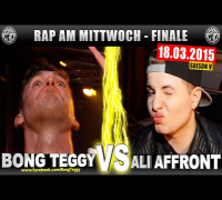 RAP AM MITTWOCH: Bong Teggy vs Ali Affront 18.03.15 BattleMania Finale (4/4) GERMAN BATTLE